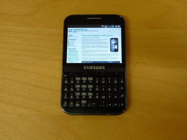 Samsung Galaxy Pro - 6