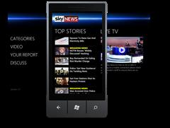 Sky-News-Windows Phone App